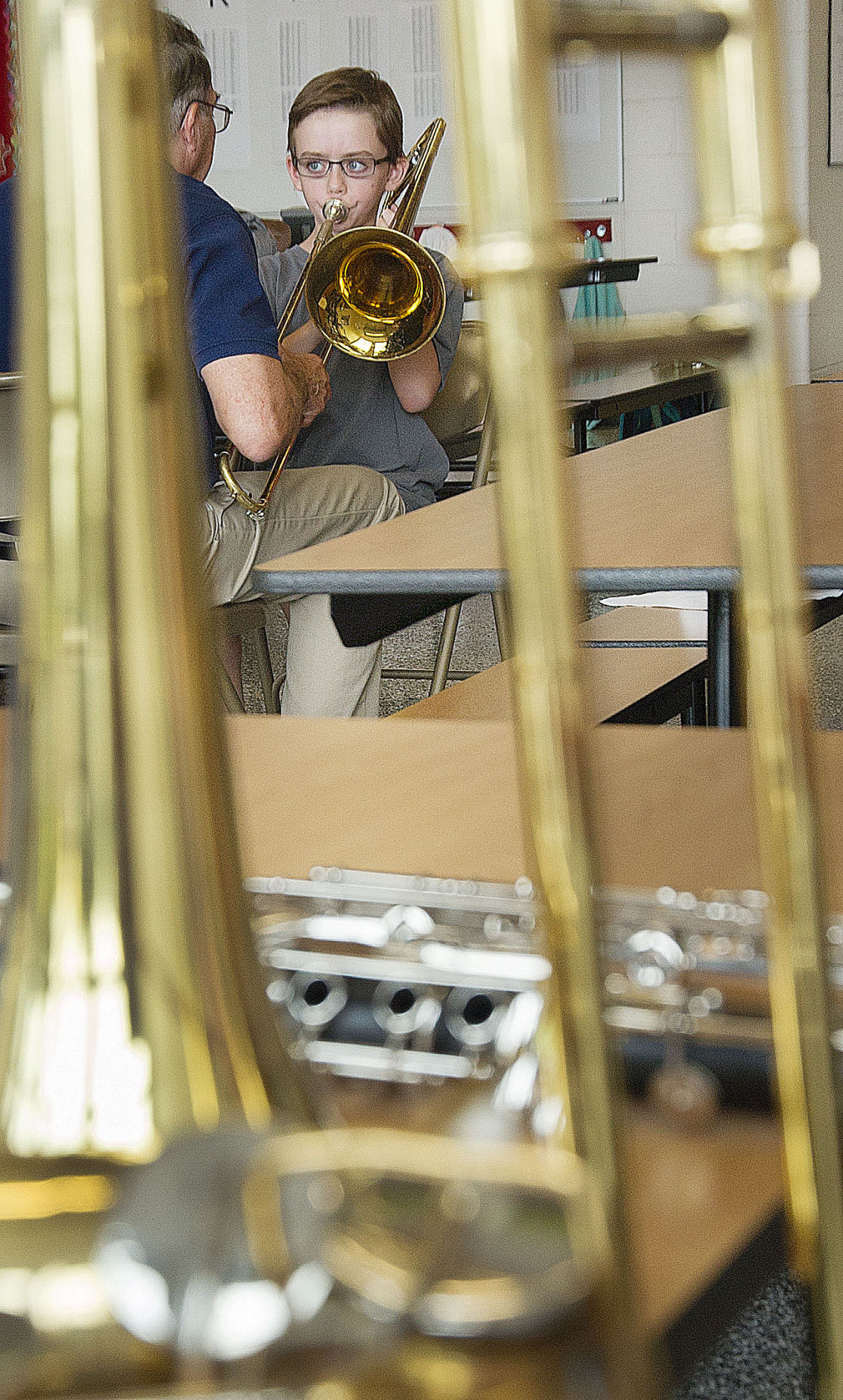 Jefferson band tryouts-Rudolph