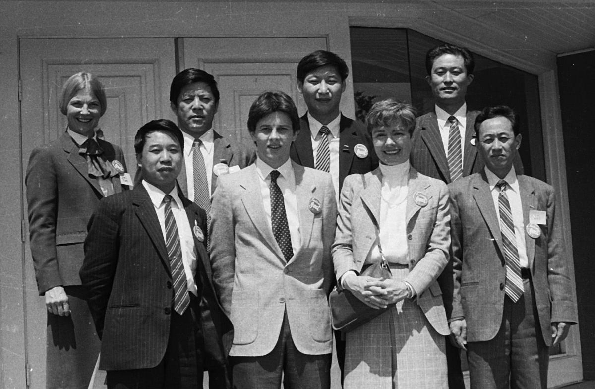 1985 Chinese delegation