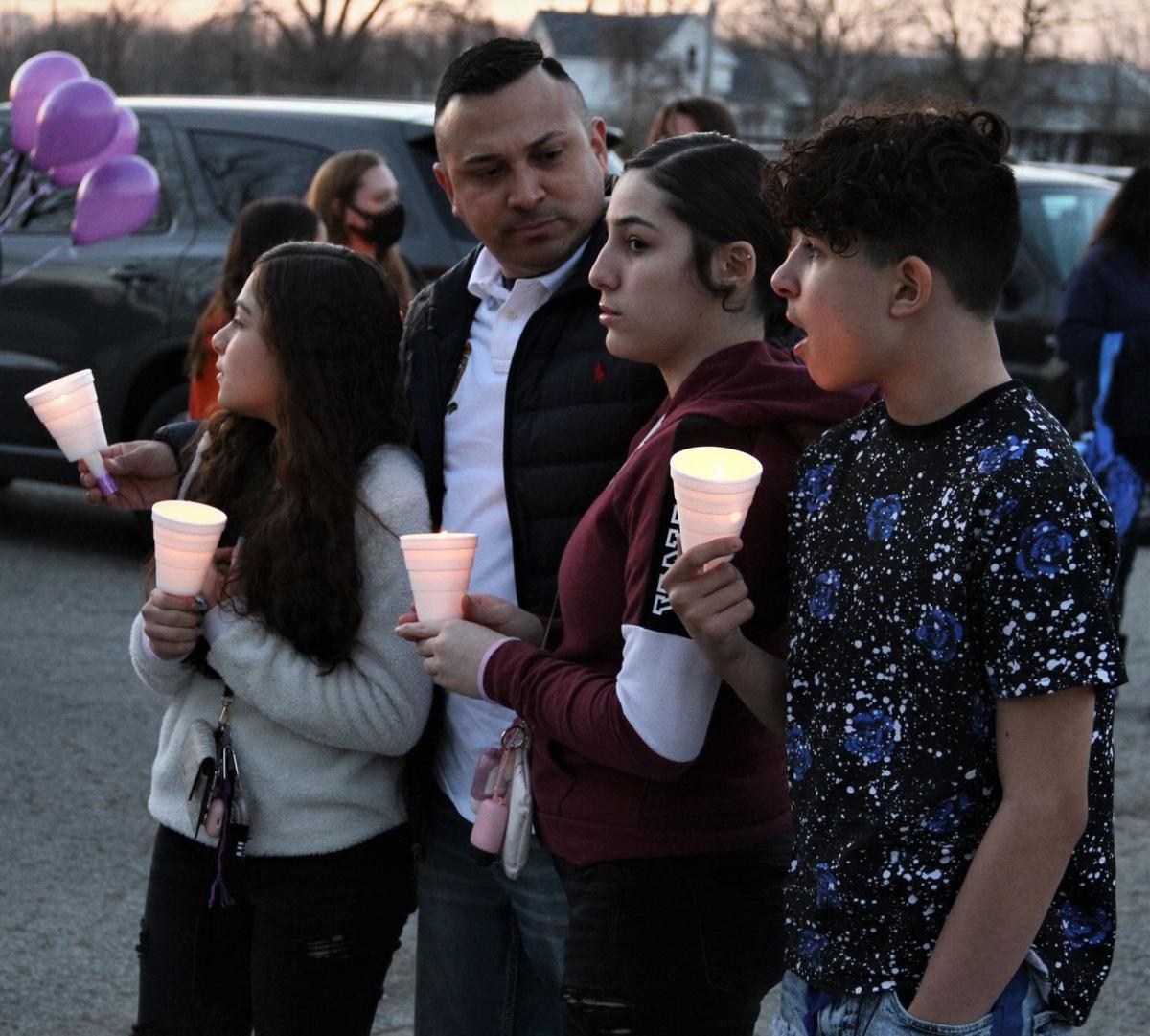 Breasia candlelight vigil 3