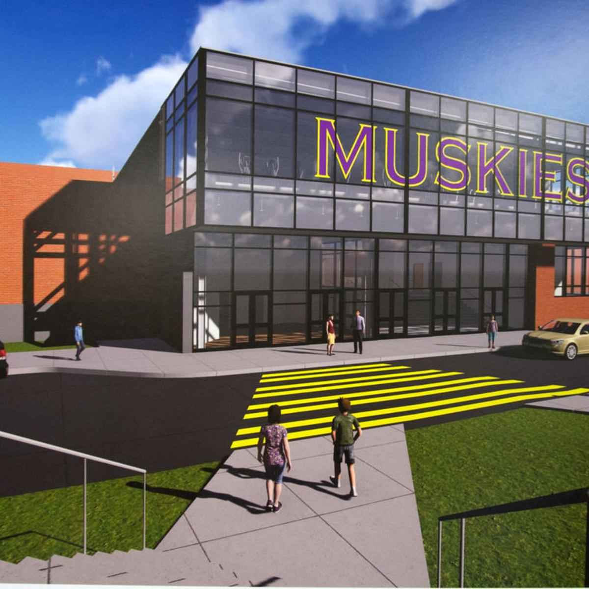 New Muscatine High School Gym Plan Approved Off To Bid Local
