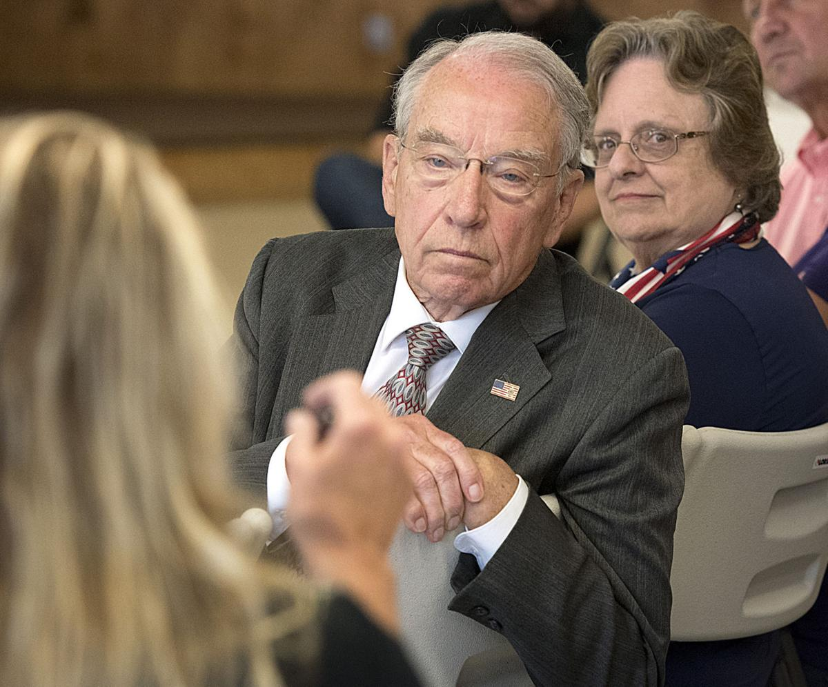 grassley town hall