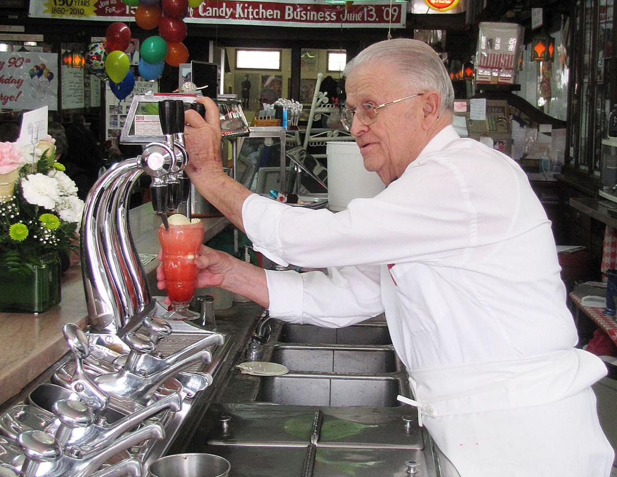 George Nopoulos-soda fountain