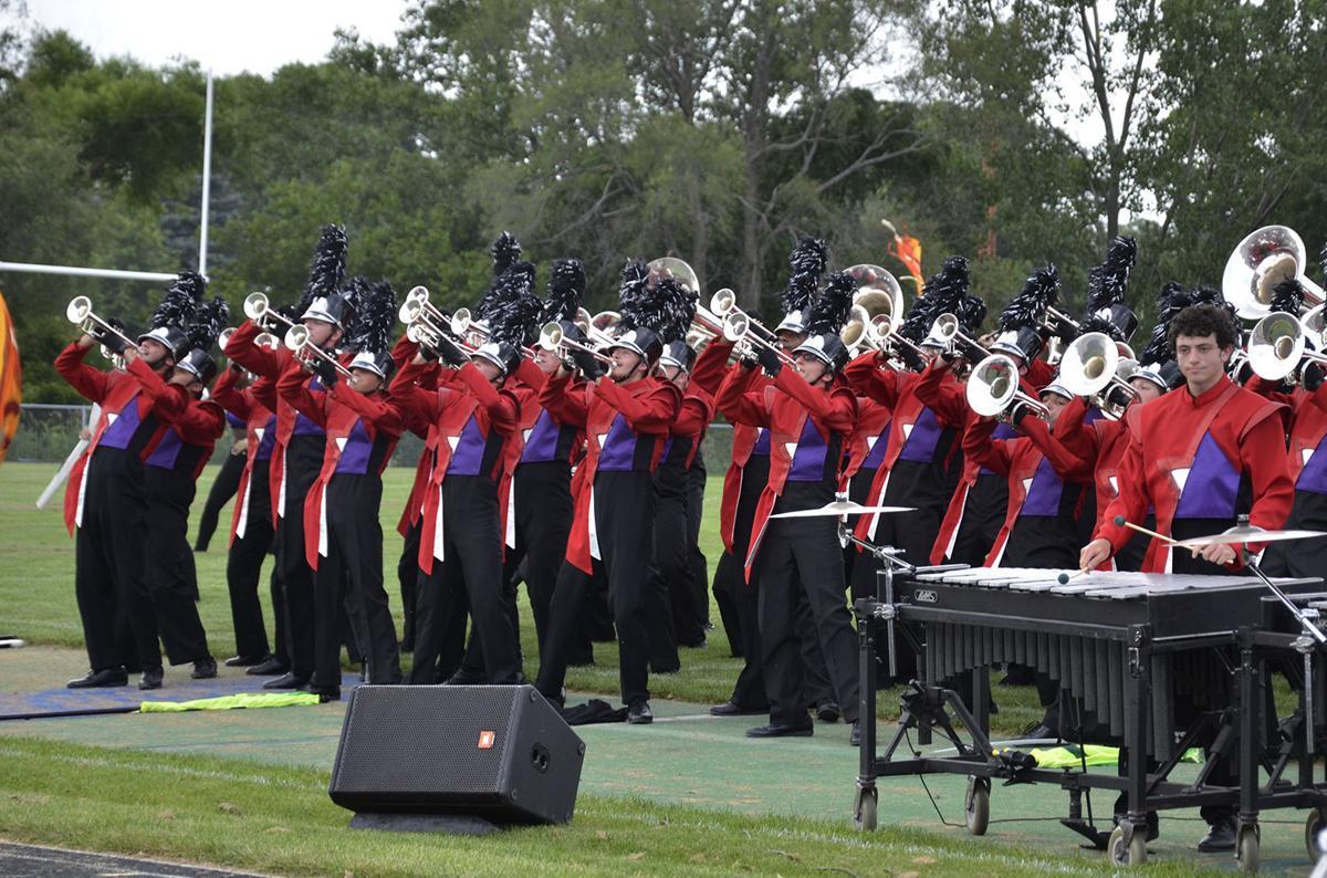 Louisiana Stars Drum and Bugle Crops