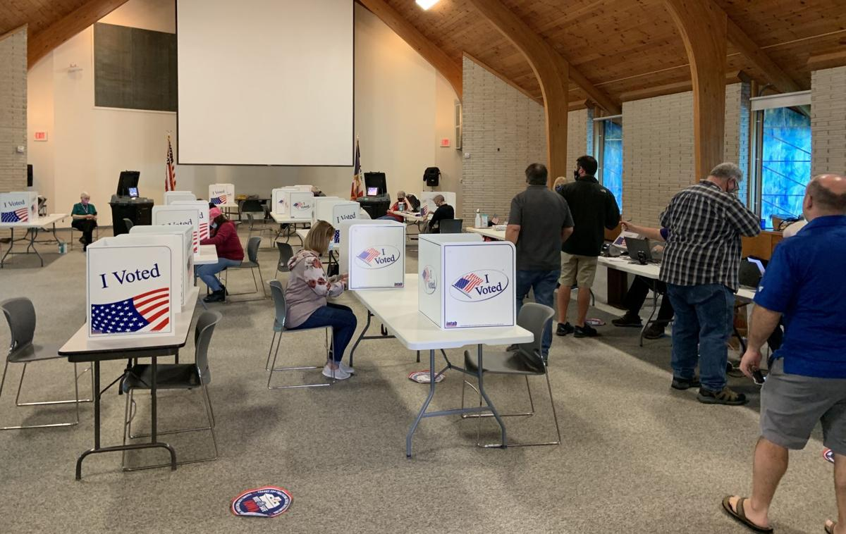 First precinct in Muscatine