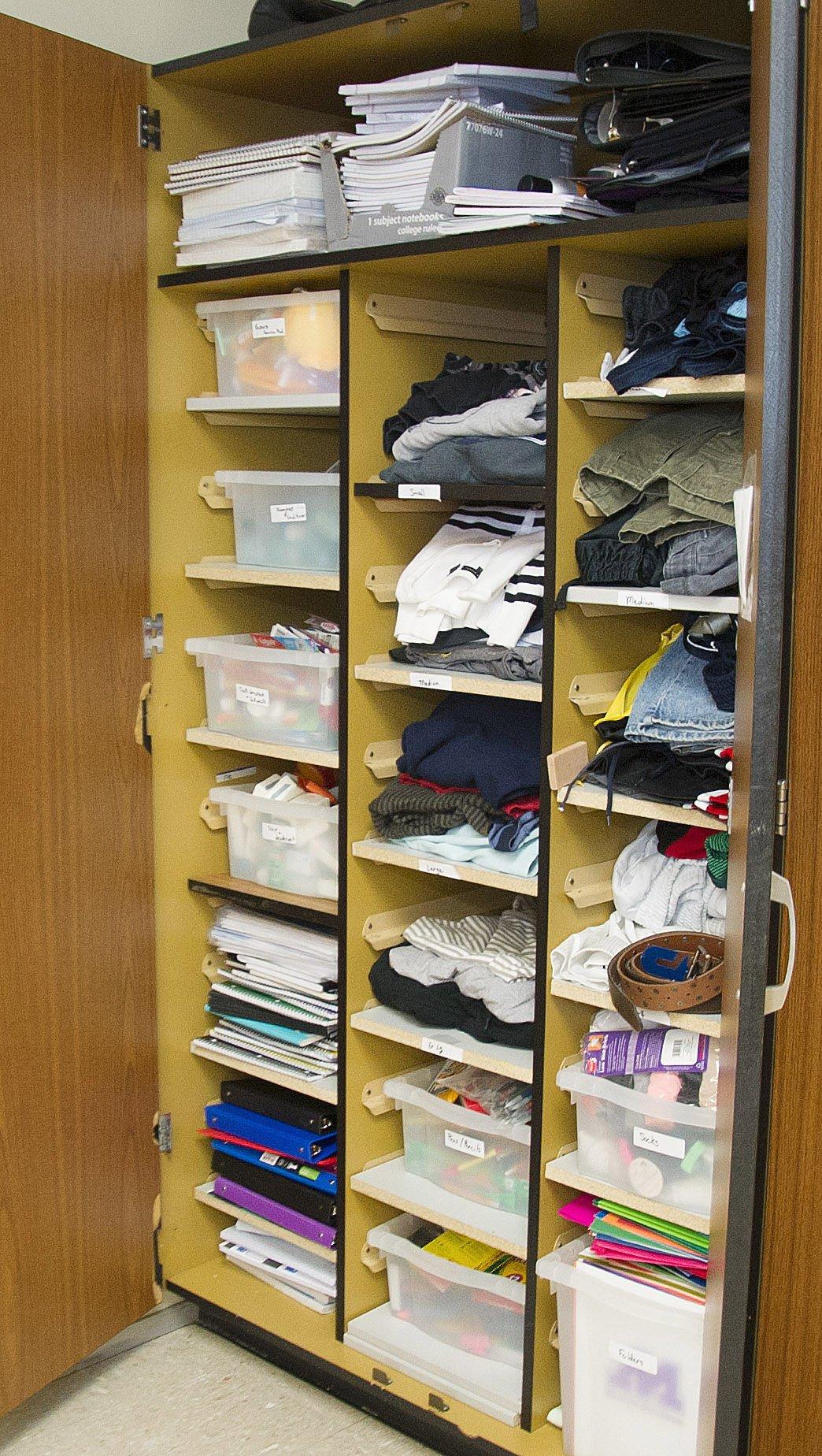 MHS Locker-supplies