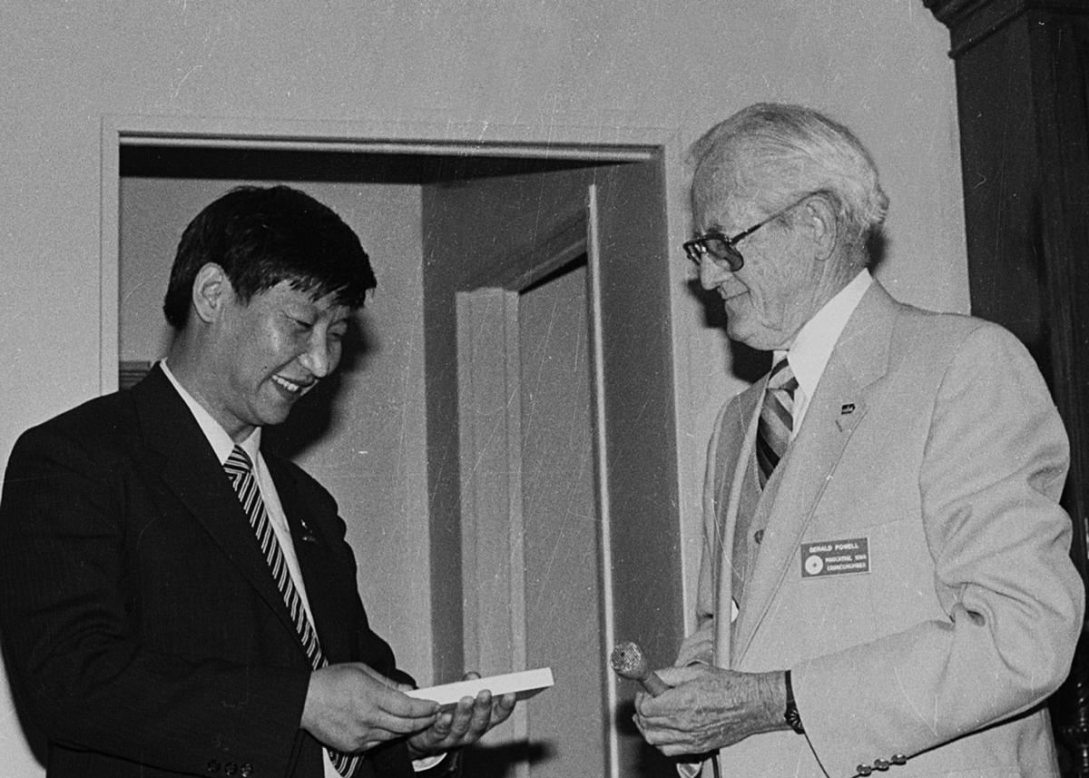 ZXi Jinping 1985 visit