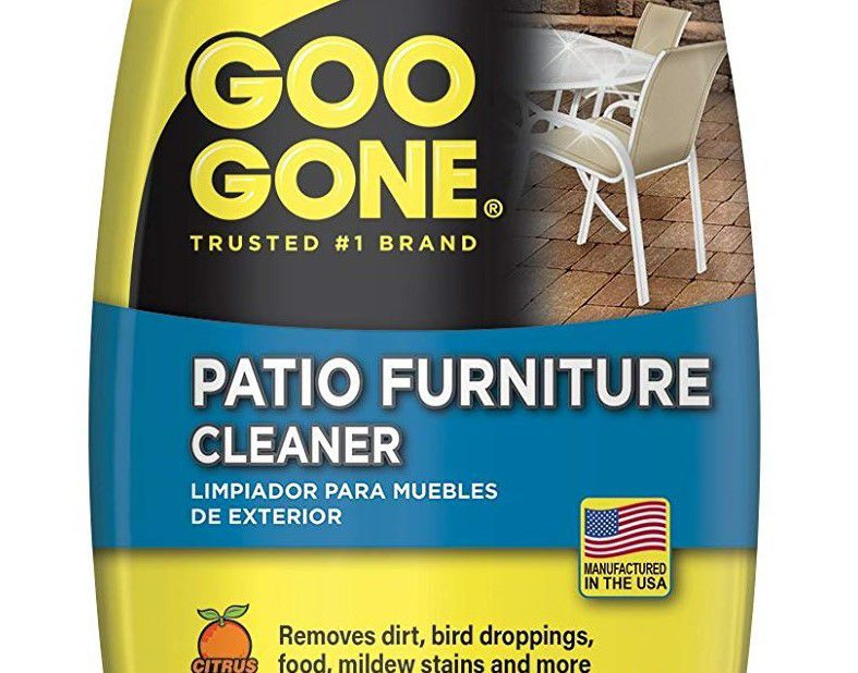 Goo Gone Now Makes A Patio Furniture