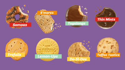 2021 Girl Scout Cookies