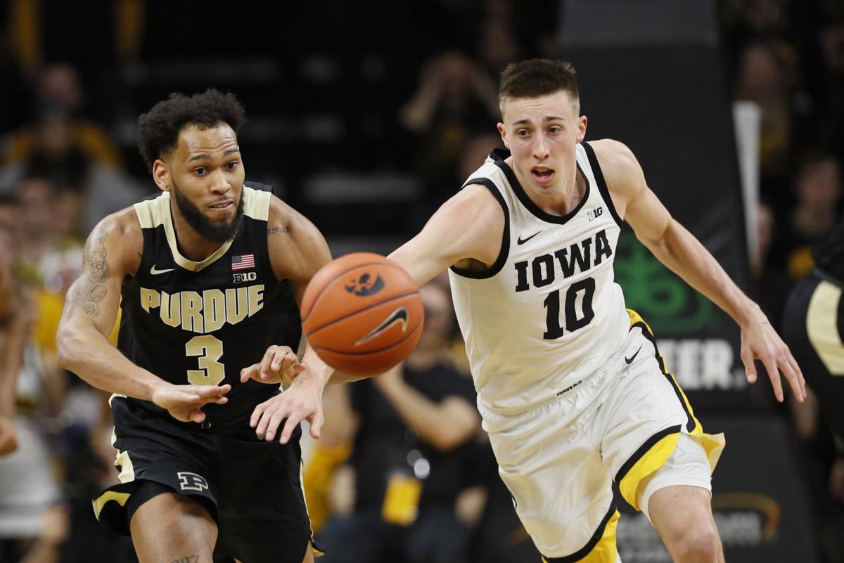 Purdue Iowa Basketball