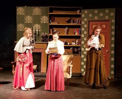 'Miss Holmes' dress rehearsal