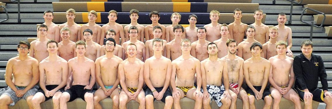 Muscatine boys swimming