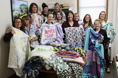 muscatine staff blankets for mcsa