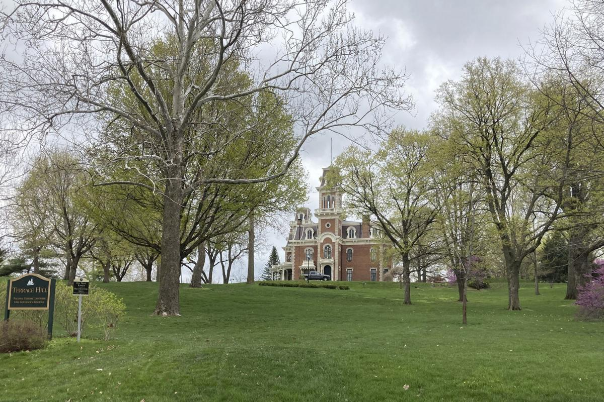 Iowa Governor Mansion Fence