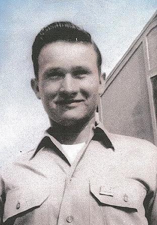 Henry Langrehr as as paratrooper