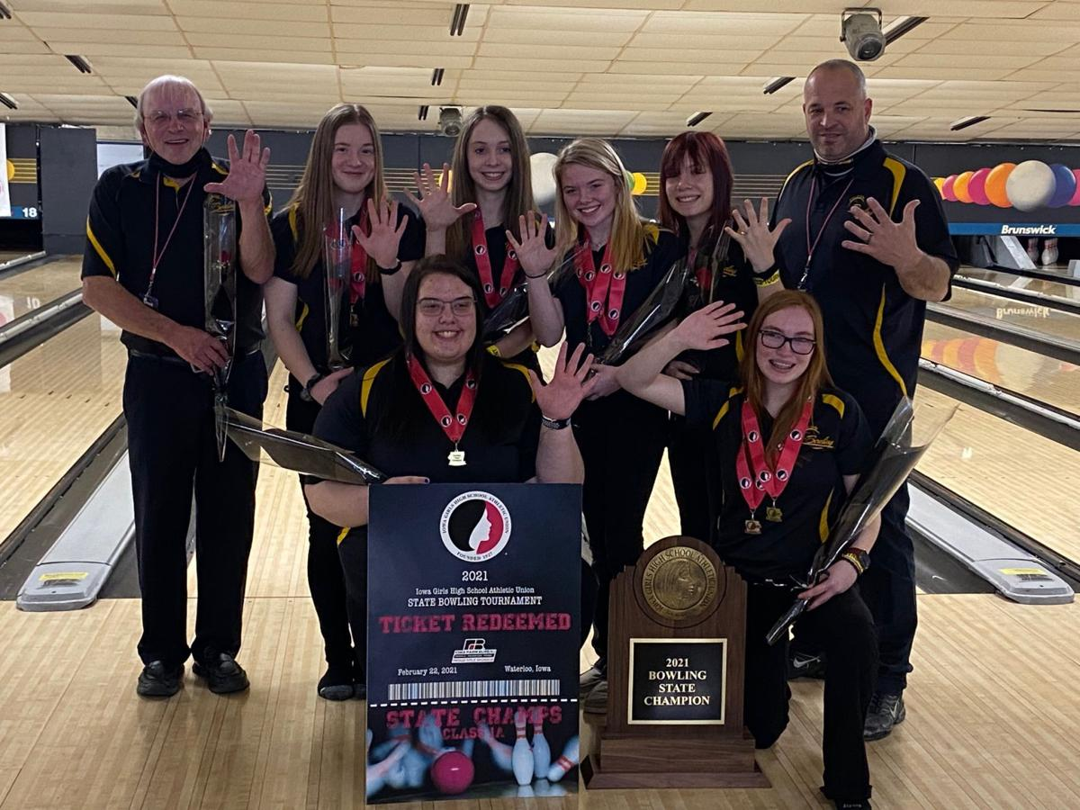 lm girls bowling 5th state title