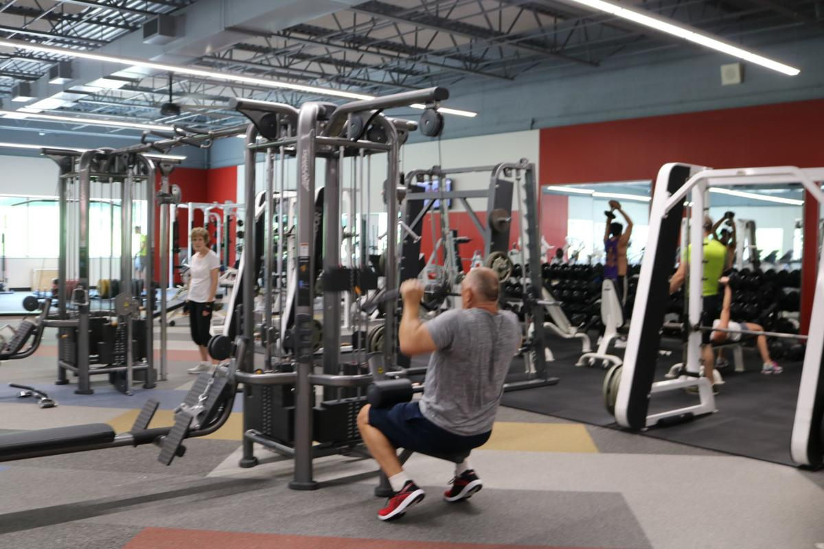 Muscatine y weight room