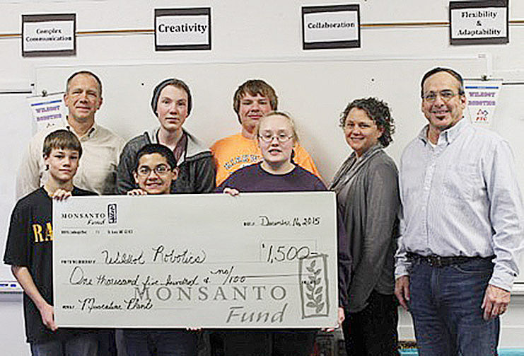 4-H team receives grant from Monsanto Fund