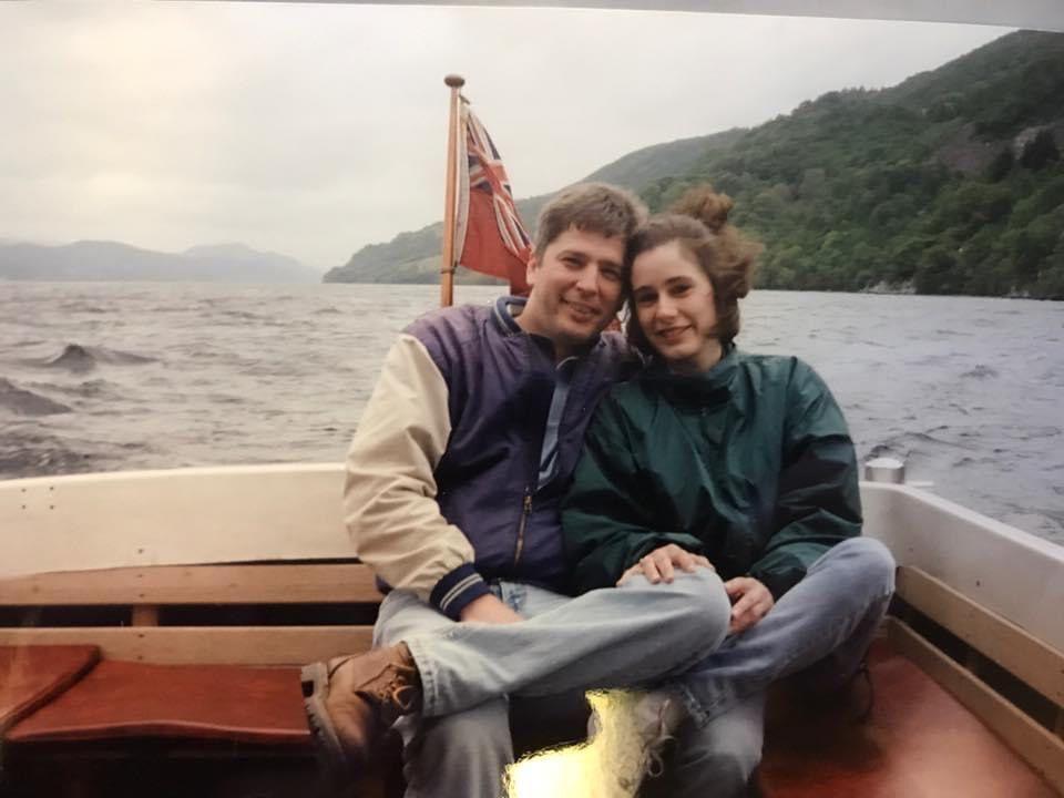Steve Campbell and Jill Maurer-Campbell