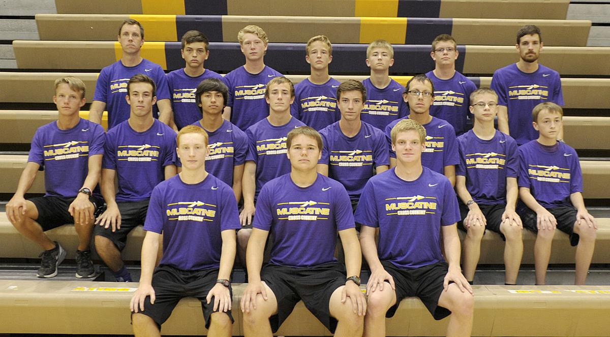 Muscatine Boys Cross Country