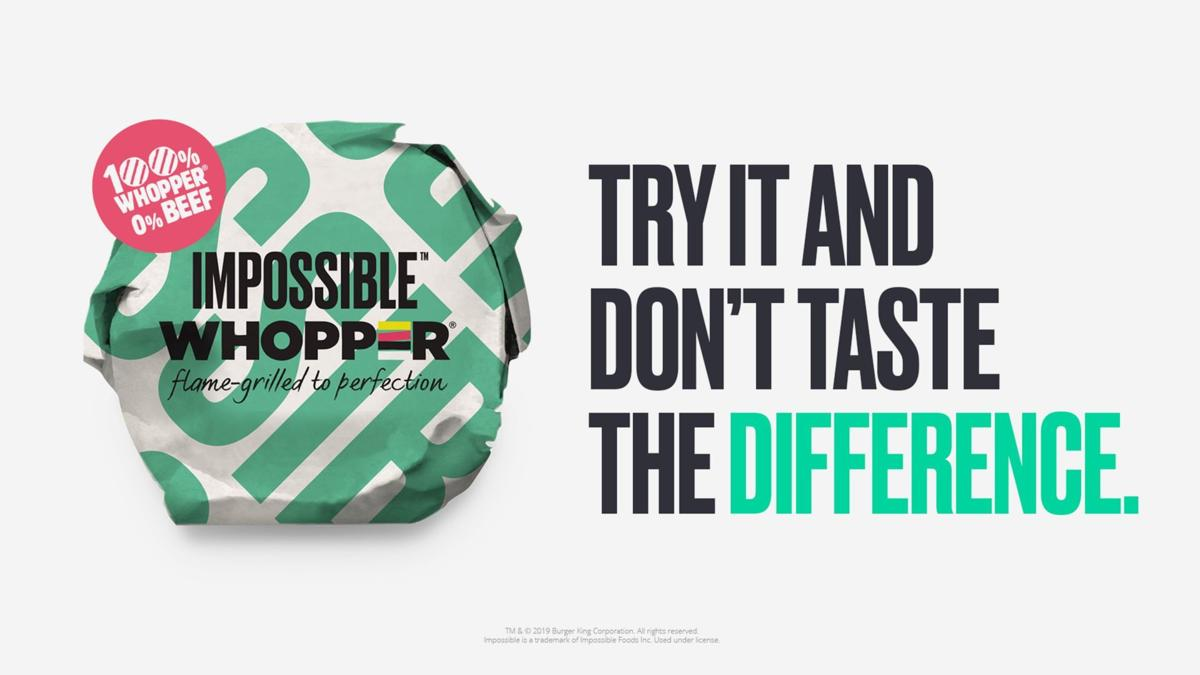 Burger King Is Testing Out An Impossible Whopper This Is Why