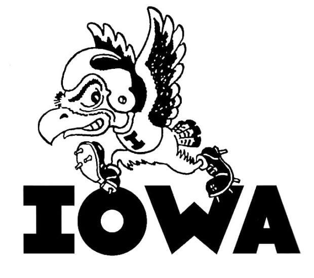 Collectible 4 Golden Herky the Hawk Iowa Hawkeyes Mascot