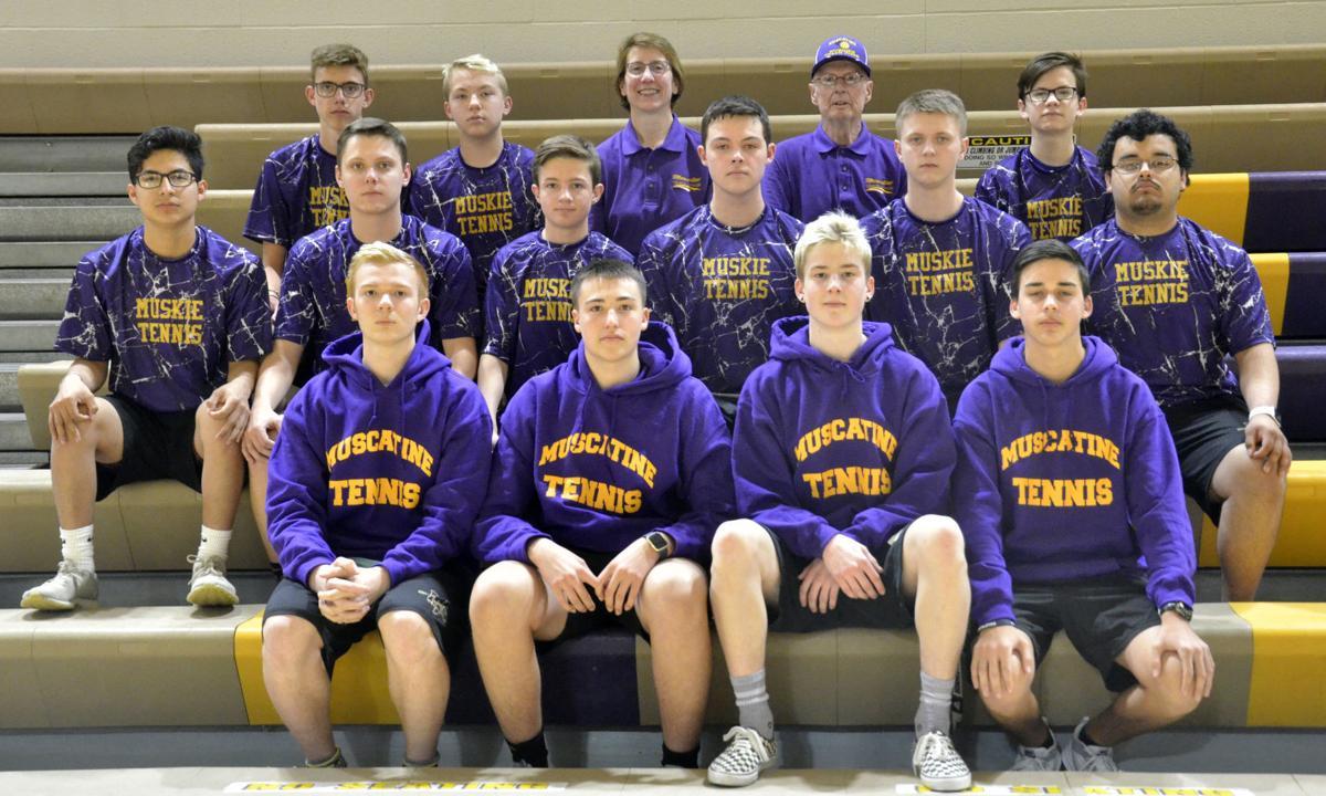Muskie boys tennis