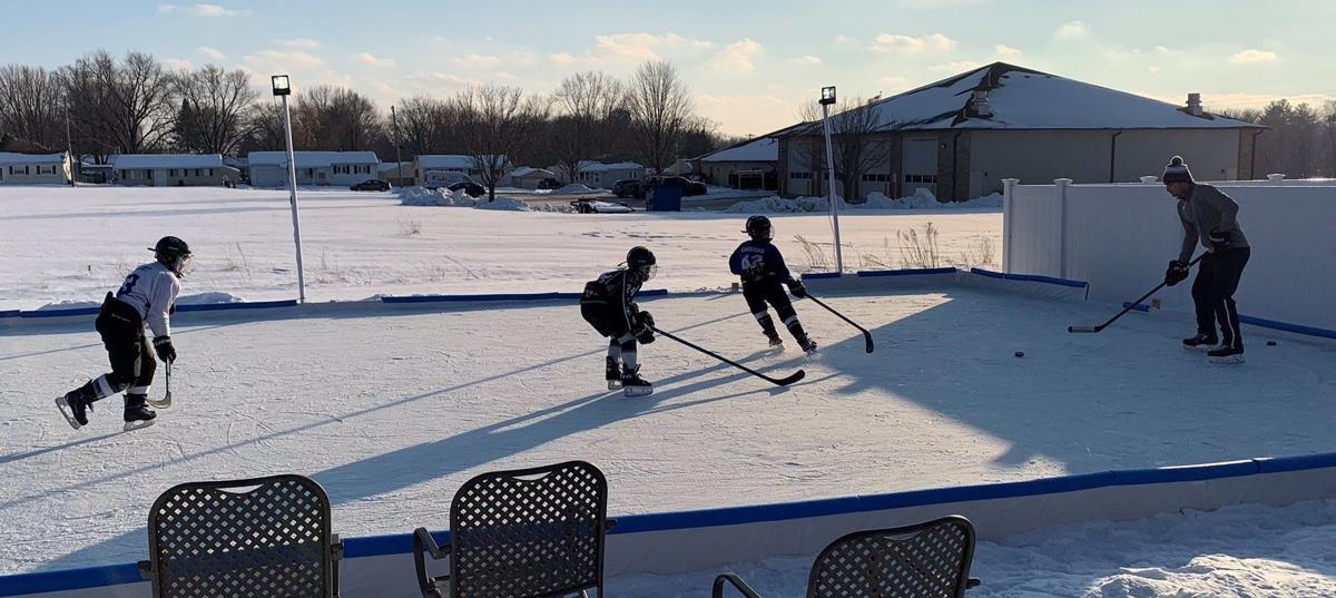 Carstens Outdoor Hockey Rink