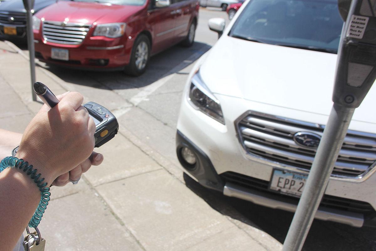 Parking file photo