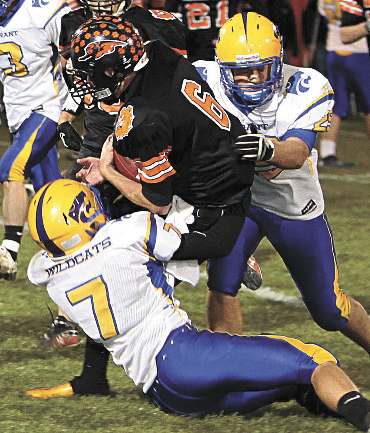 Prep Football Playoffs: Durant-Bennett Blanked In Opening