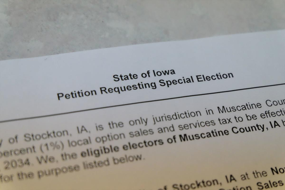 Local sales tax petition