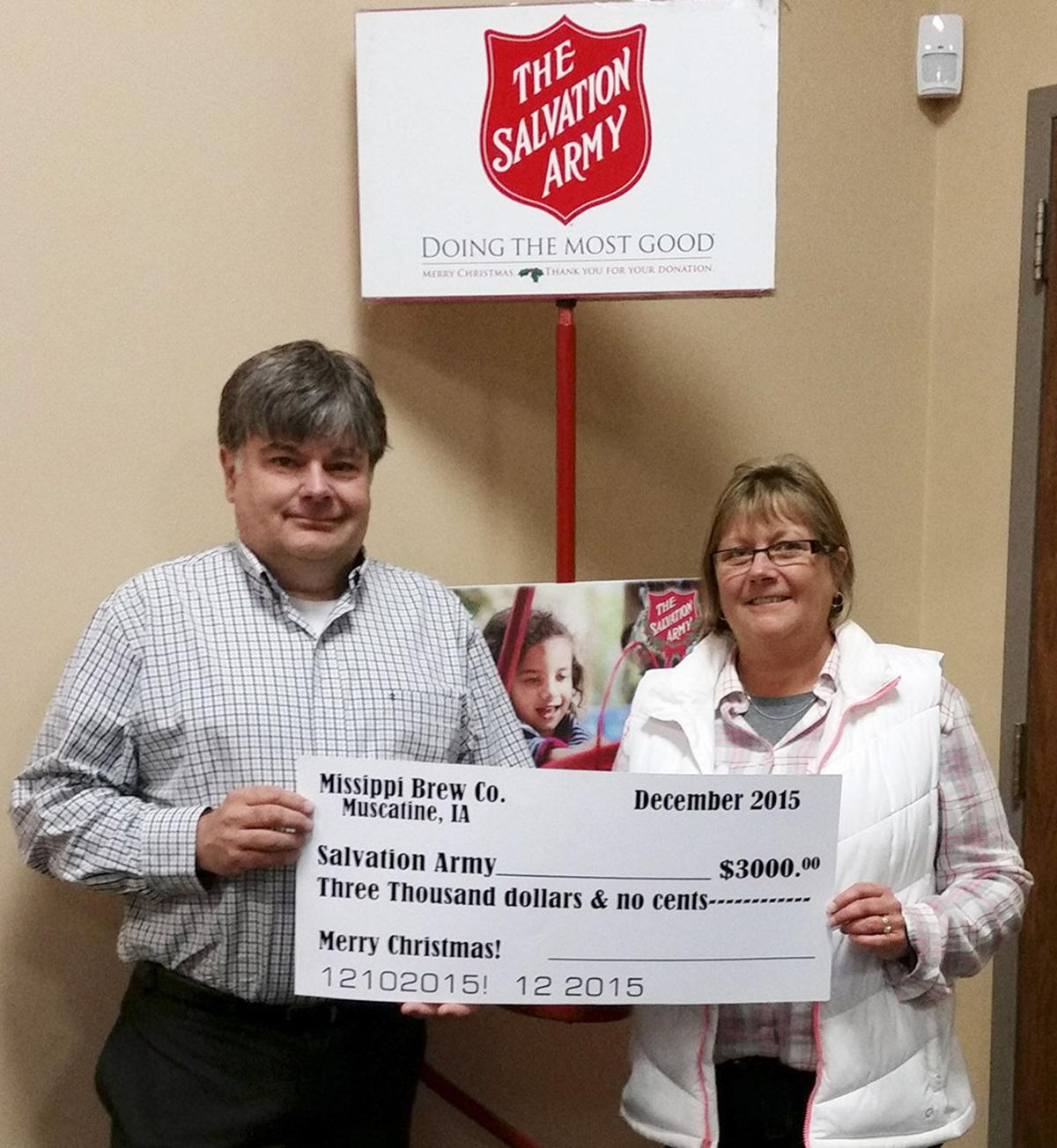 The Brew donates to local charities