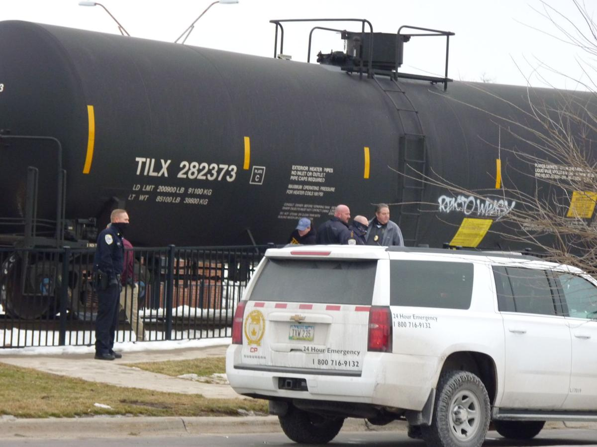 Pedestrian reportedly hit by train Thursday afternoon