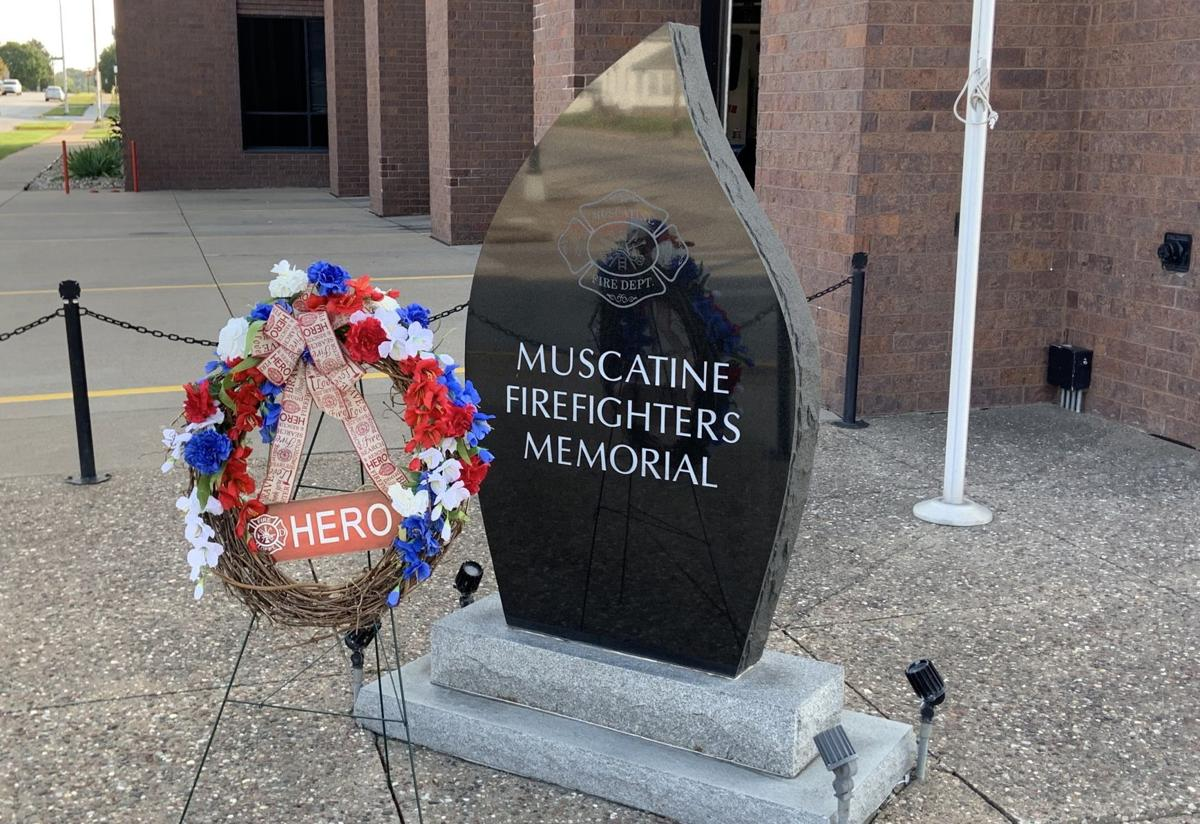 Muscatine Firefighters Memorial