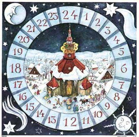 advent calendar one