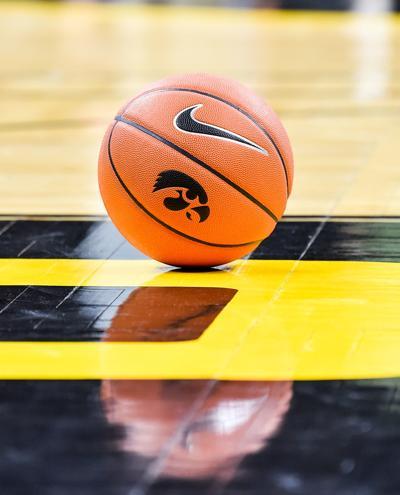 Iowa logo on ball