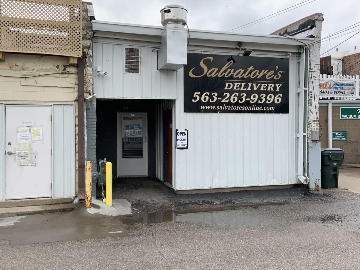 Salvatore's back door