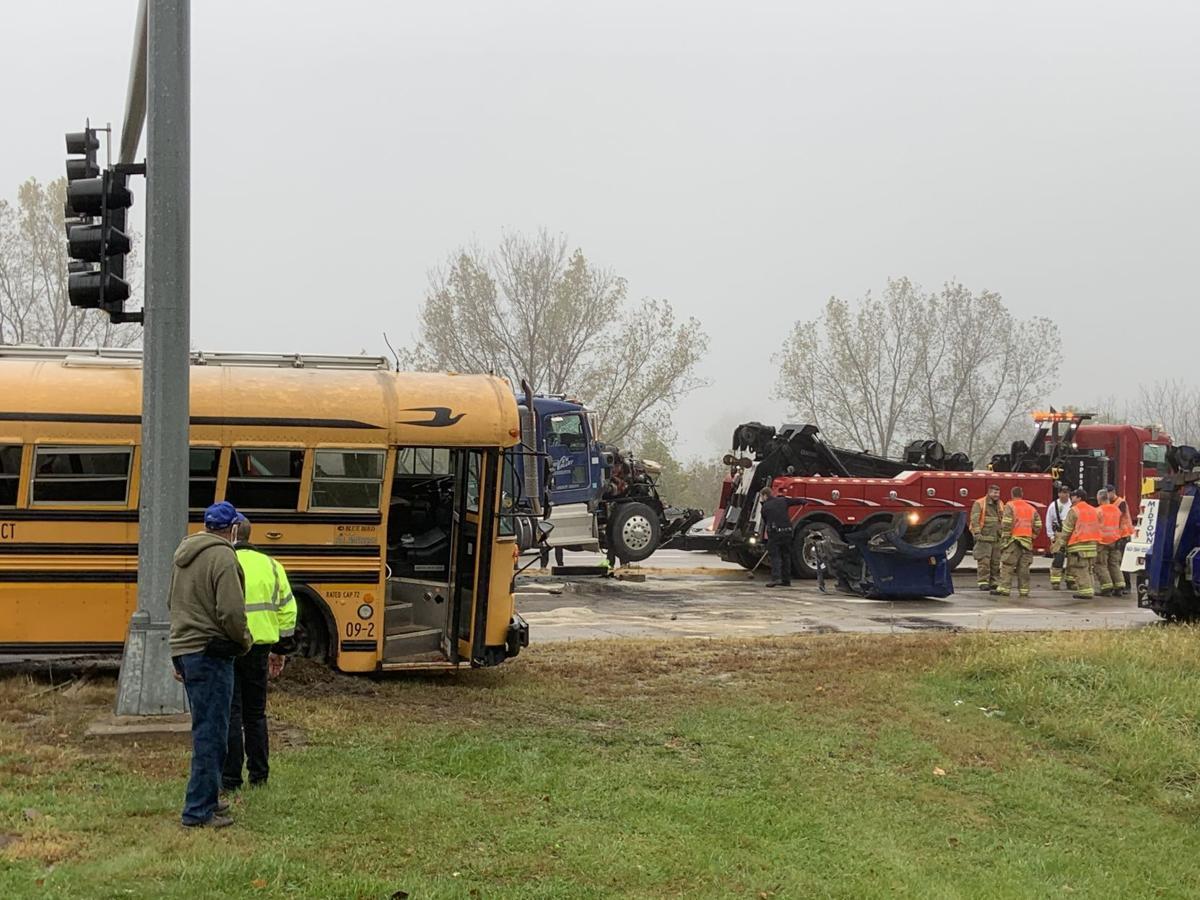 Responders on crash site