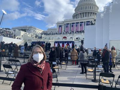Miller-Meeks at Biden inauguration