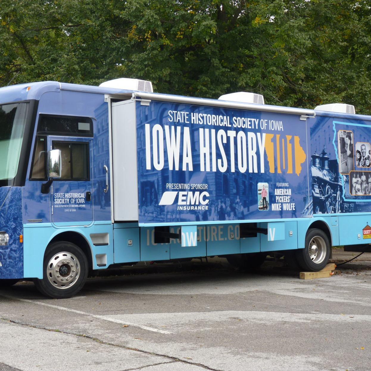 Iowa History 101 Bus Visits Muscatine Through Sunday Local