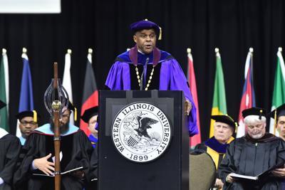Western Illinois University President Jack Thomas