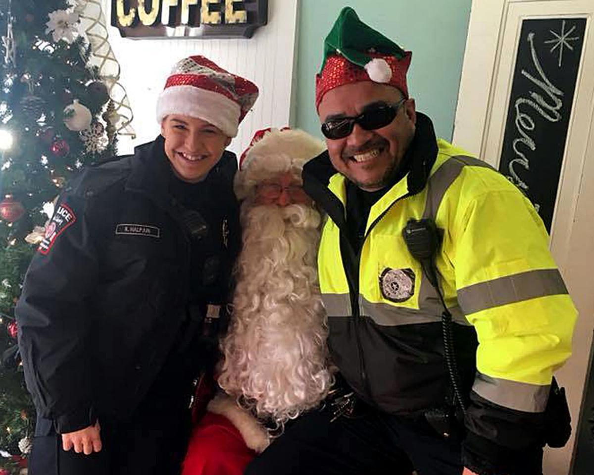 Officers Kim Halpain and Dave Lira