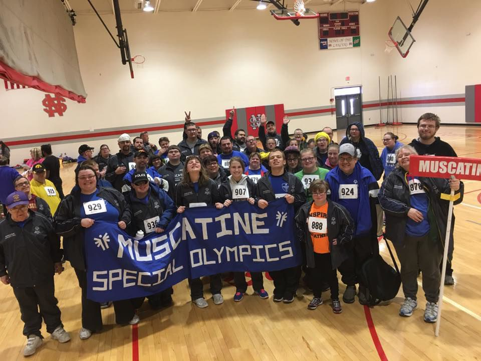 Muscatine Special Olympics Track Meet 2019