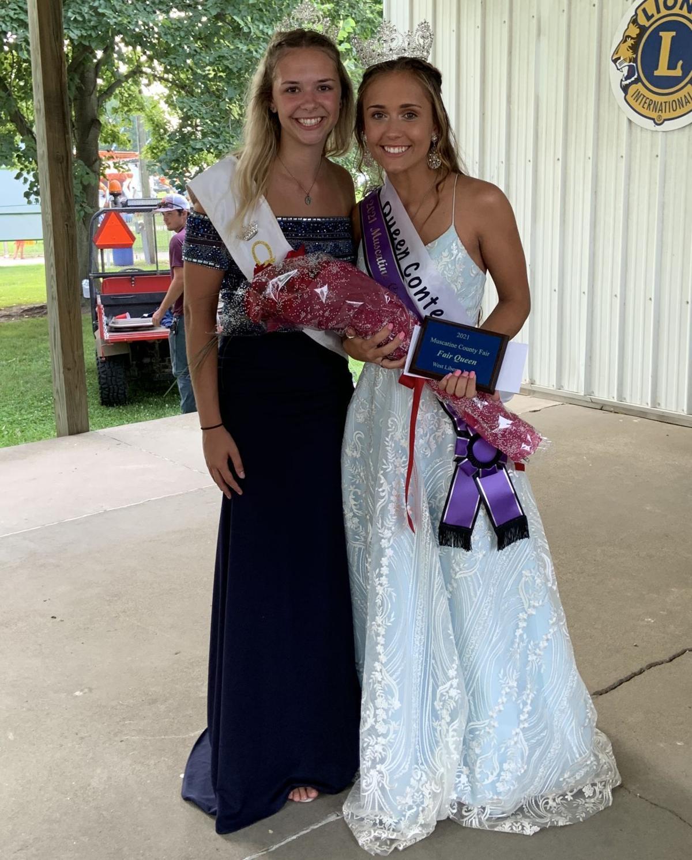 Queen Hope Reichert and Queen Haylee Lehman