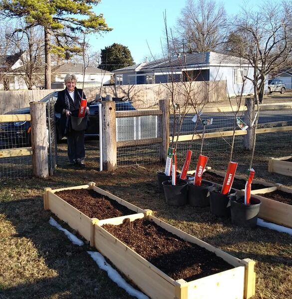 Checotah library offers community garden spots