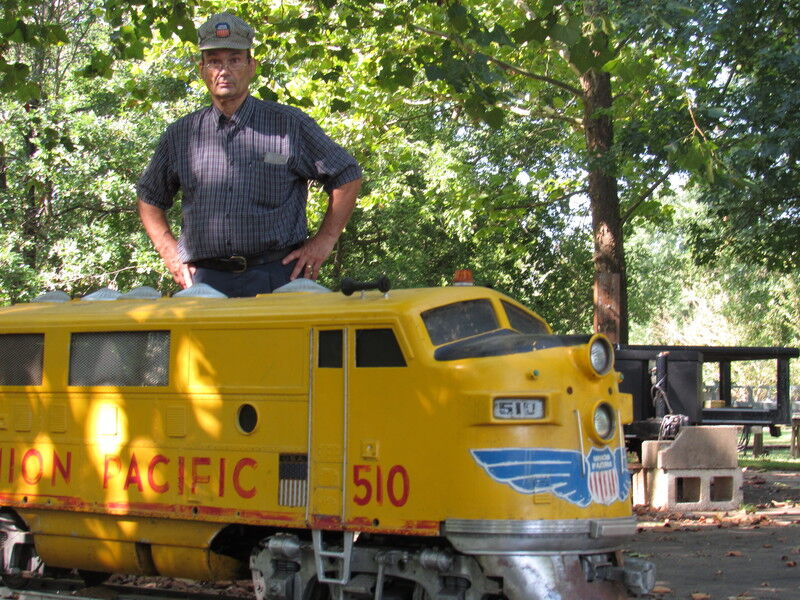 Okie from Muskogee: Harrington carried love of trains into retirement