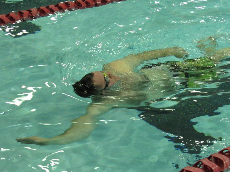 Community program boosts school's swim team
