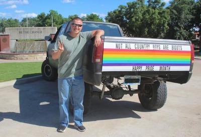 Oklahoma County Boy Touts Pride Month