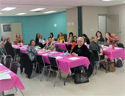 Attendance growing at women's breakfast meetings