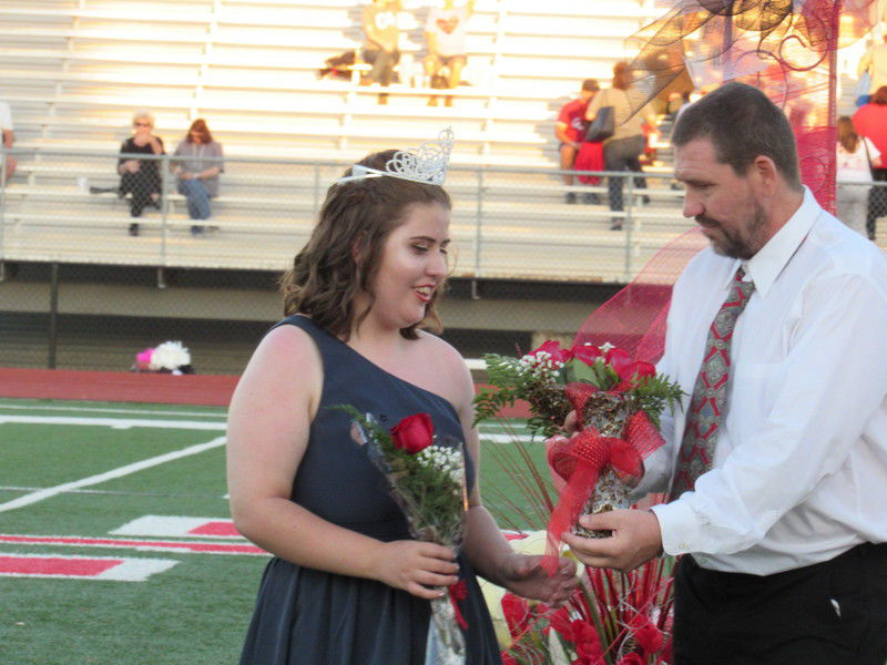 Fort Gibson homecoming queen aspires to be a chef