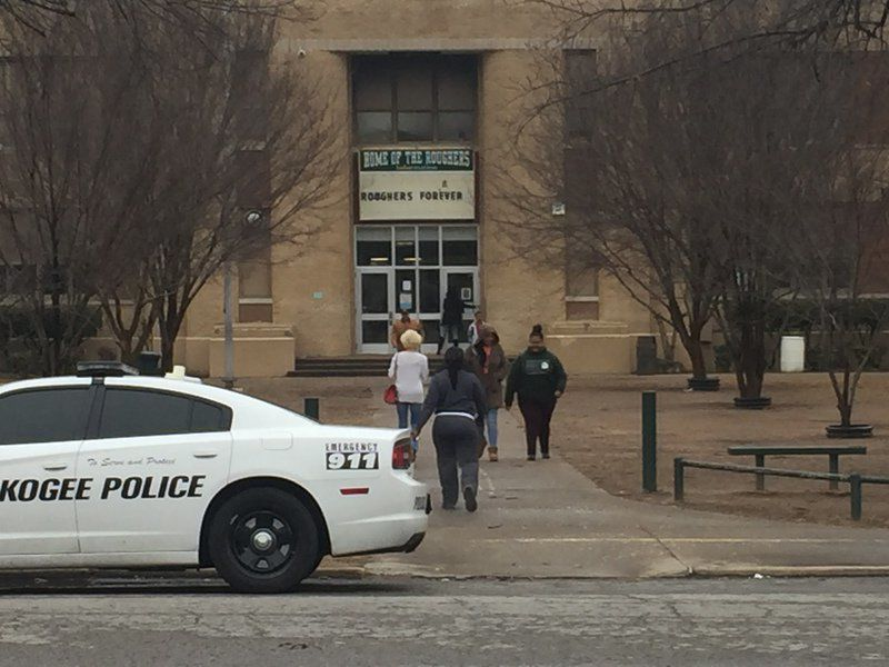 Two Alice Robertson Junior High students arrested